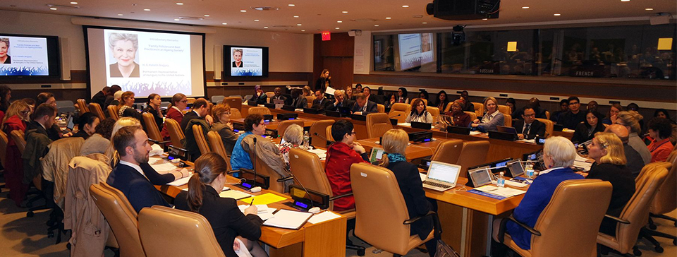 Event on Intergenerational Relations at the UN